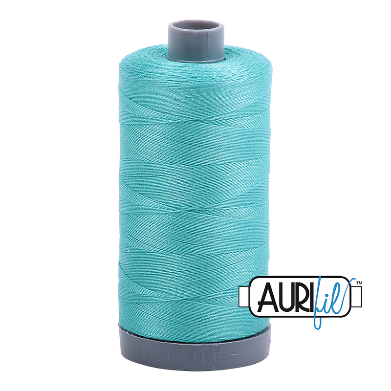 Aurifil Mako 28wt Cotton 750 m (820 yd.) spool - 1148 Light Jade
