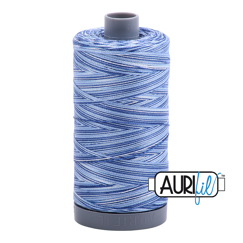 Aurifil Mako 28wt Cotton 750 m (820 yd.) spool - 4655 Storm at Sea