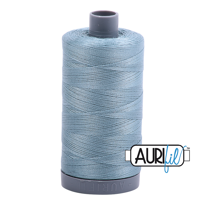 Aurifil Mako 28wt Cotton 750 m (820 yd.) spool - 5008 Sugar Paper