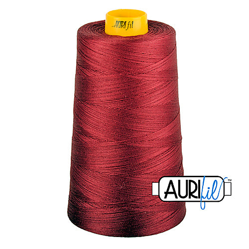 Aurifil Mako 40wt 3-ply Cotton 3000 m (3250 yd.) cone - 1103 Burgundy<br><font color = red>Please note, this thread is not available in-store, but will be ordered for you.</font>
