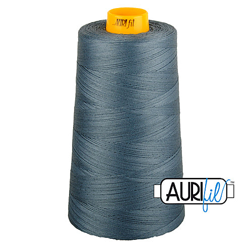 Aurifil Mako 40wt 3-ply Cotton 3000 m (3250 yd.) cone - 1246 Dark Grey<br><font color = red>Please note, this thread is not available in-store, but will be ordered for you.</font>