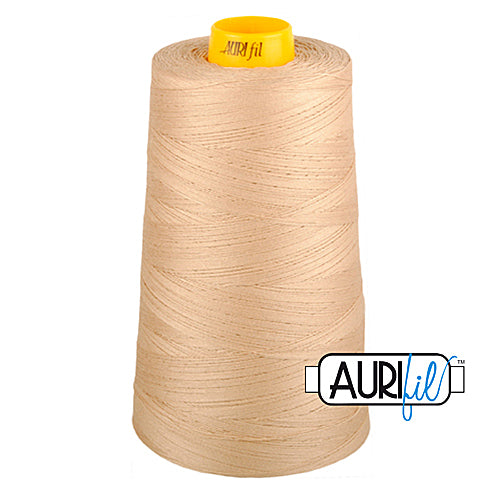 Aurifil Mako 40wt 3-ply Cotton 3000 m (3250 yd.) cone - 2314 Beige<br><font color = red>Please note, this thread is not available in-store, but will be ordered for you.</font>