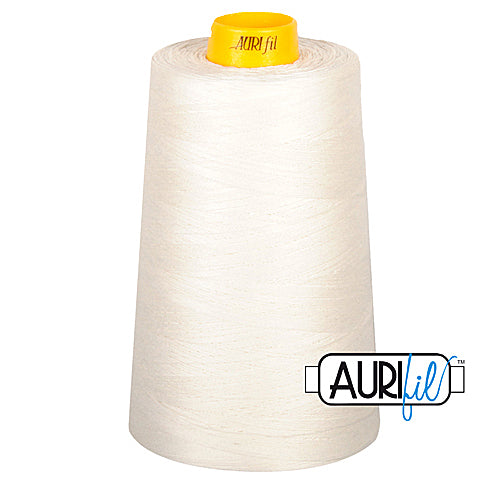 Aurifil Mako 40wt 3-ply Cotton 3000 m (3250 yd.) cone - 6722 Sea Bisquit<br><font color = red>Please note, this thread is not available in-store, but will be ordered for you.</font>