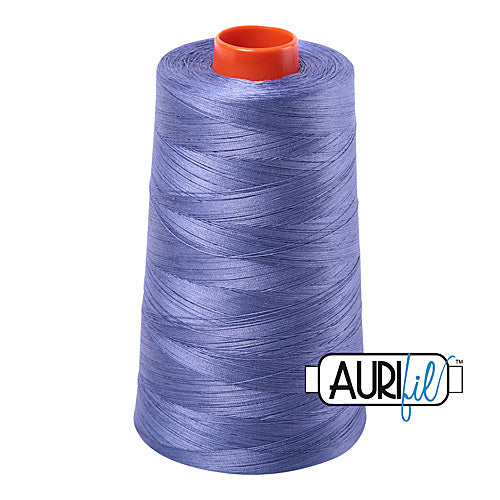 Aurifil Mako 50wt Cotton 5900 m (6452 yd.) cone - 2525 Dusty Blue Violet<br><font color = red>Please note, that this colour in this size is not available in-store, but will be ordered for you.</font>