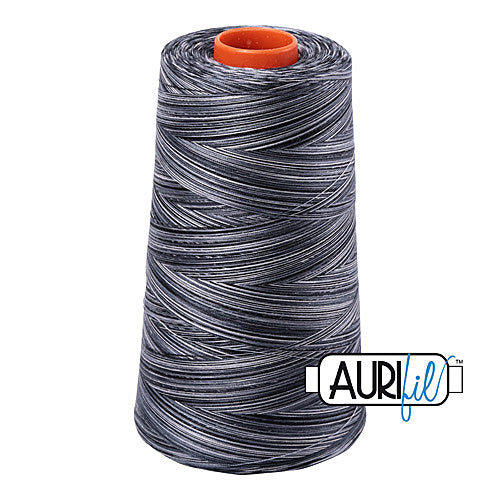 Aurifil Mako 50wt Cotton 5900 m (6452 yd.) cone - 4665 Graphite<br><font color = red>Please note, that this colour in this size is not available in-store, but will be ordered for you.</font>
