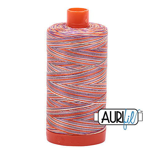 Aurifil Mako 50wt Cotton 1300 m (1422 yd.) spool - 4648 Desert Dawn<br>