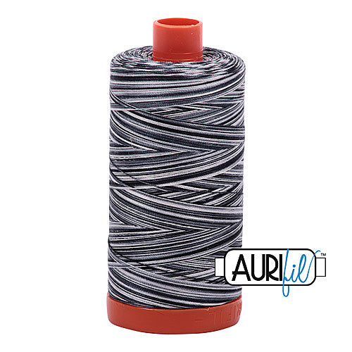 Aurifil Mako 50wt Cotton 1300 m (1422 yd.) spool - 4665 Graphite<br>