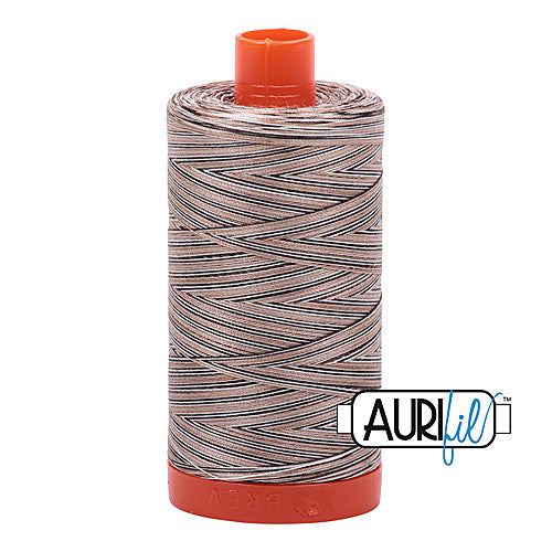Aurifil Mako 50wt Cotton 1300 m (1422 yd.) spool - 4667 Nutty Nougat<br>