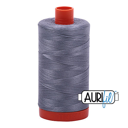 Aurifil Mako 50wt Cotton 1300 m (1422 yd.) spool - 6734 Swallow<br>