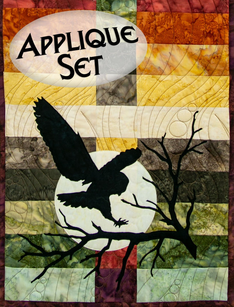 Night Owl Appliqué Shapes Set