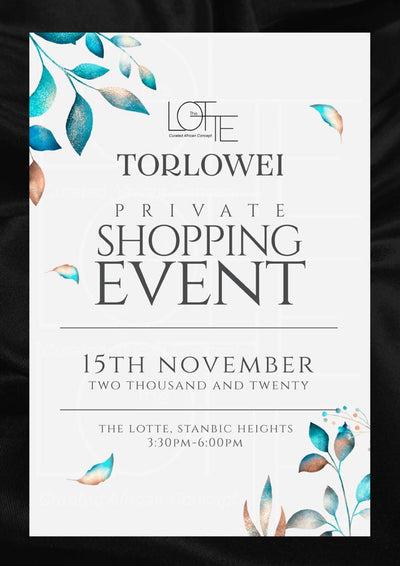 The Lotte Trunk Show Featuring Torlowei