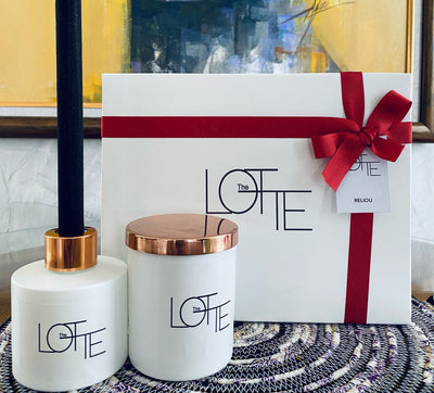 The Lotte Candle & Diffuser Set