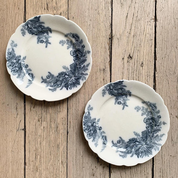 Duo d'assiettes à dessert Paris Johnson Bros England
