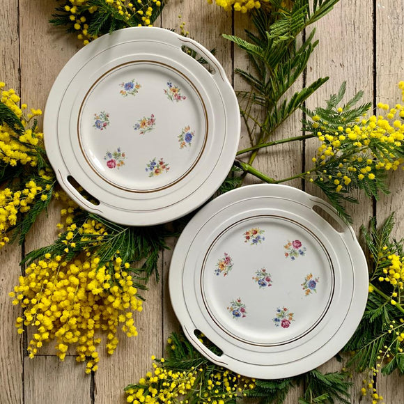 Plat rond Versailles Porcelor Ceranord mimosa