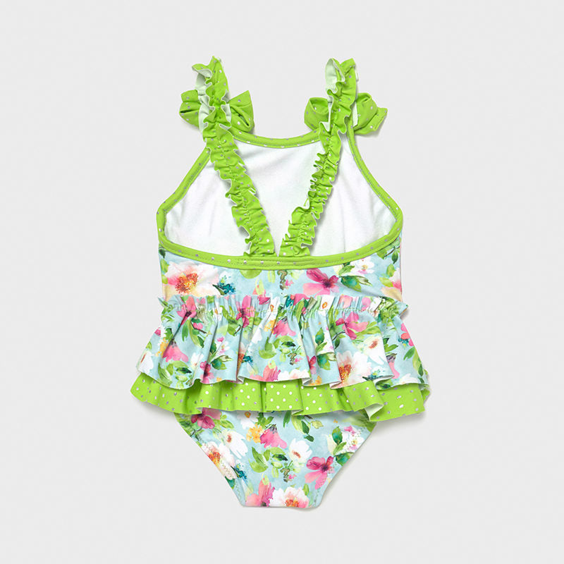 Mayoral 1719 LIME GREEN SWIMMING COSTUME