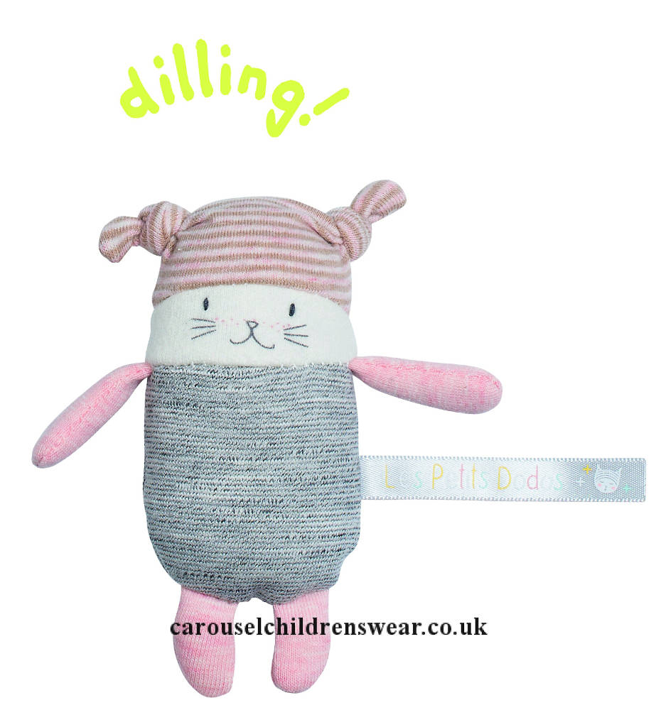 MOULIN ROTY 663001 MOON THE LITTLE CAT RATTLE