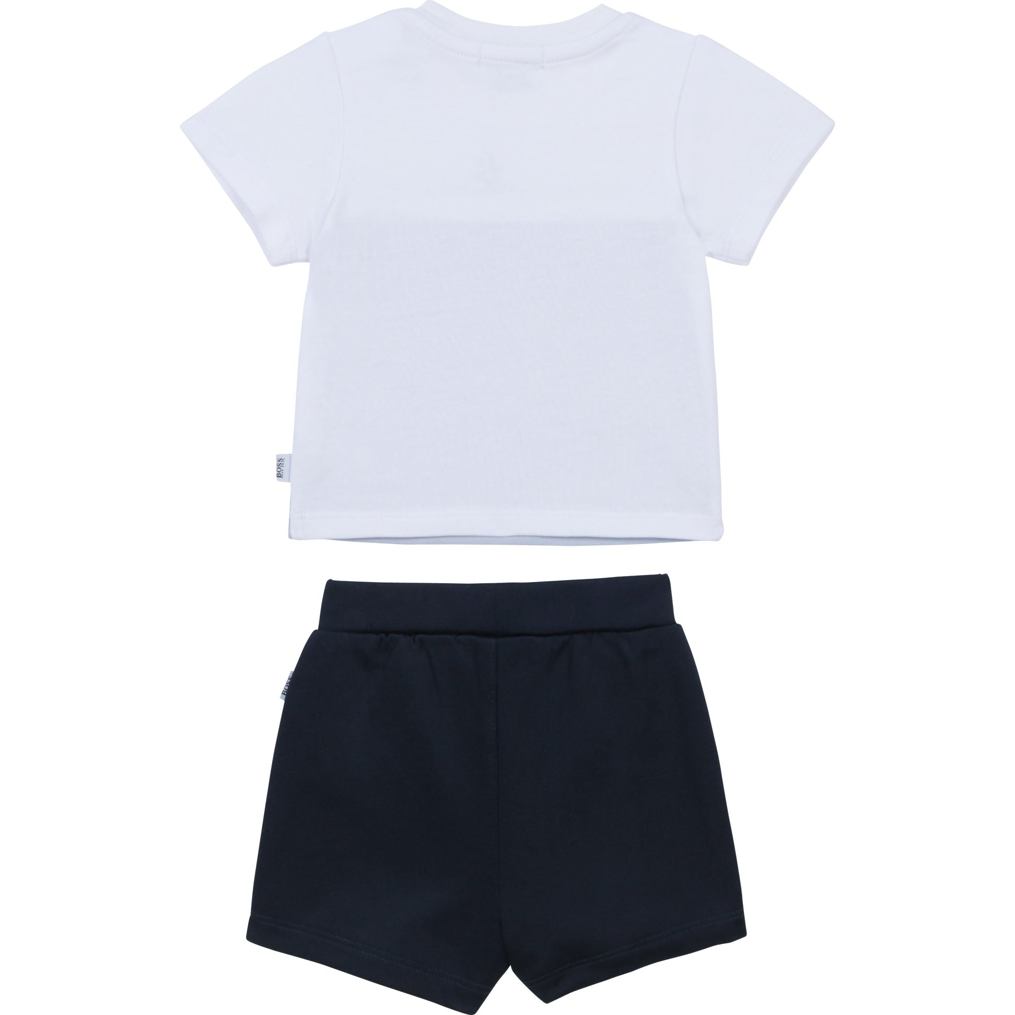 Boss PALE BLUE T-SHIRT AND SHORT SET