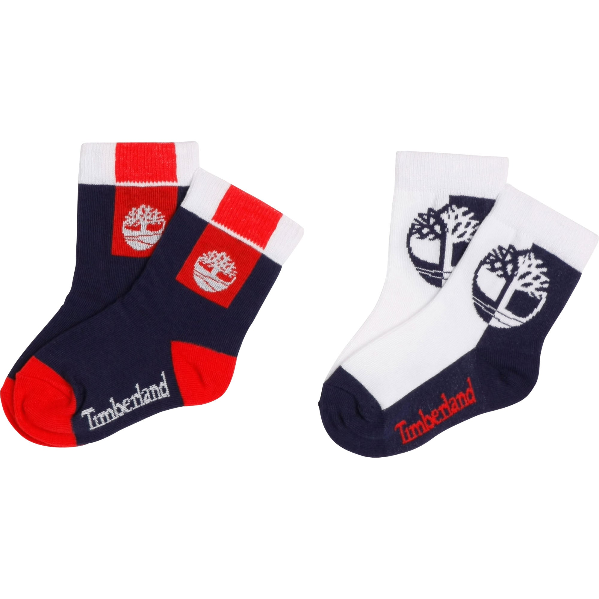 Timberland NAVY TWO PACK OF SOCKS