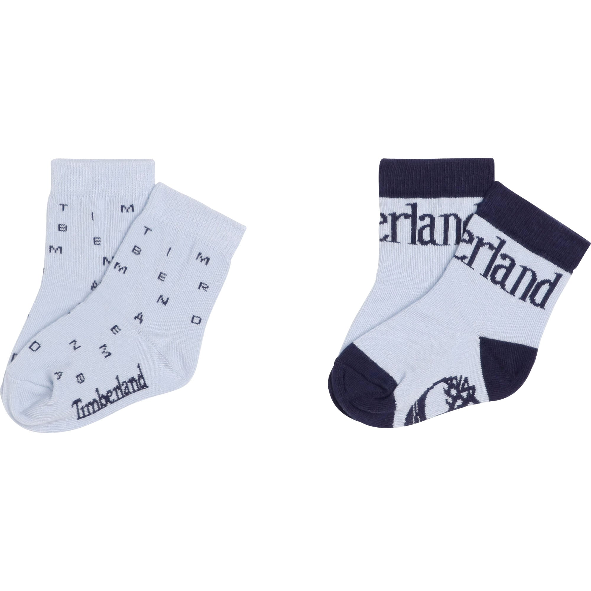 Timberland Two PACK OF PALE BLUE SOCKS