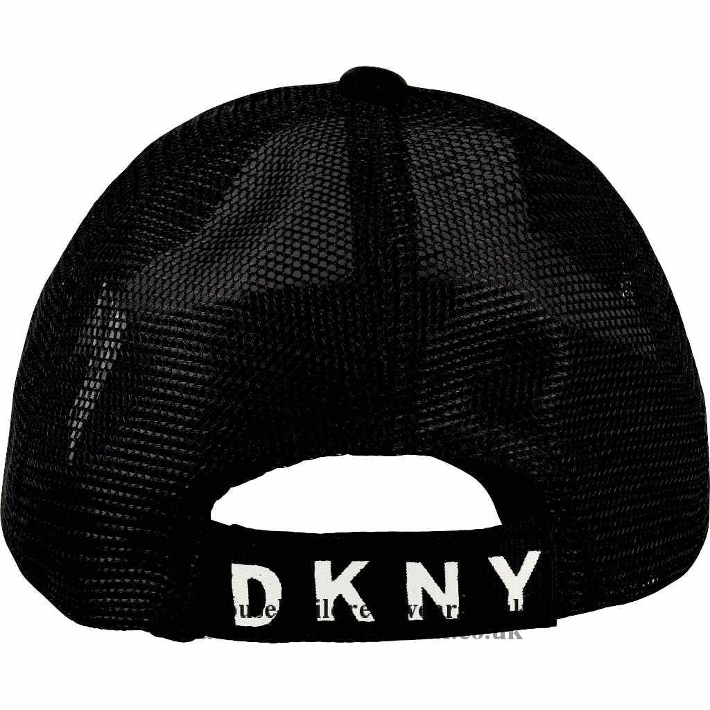 Dkny D31257 09B Black Baseball Hat Accessories