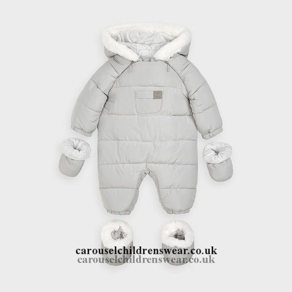 Mayoral 2627 012 Grey Snowsuit Clothing