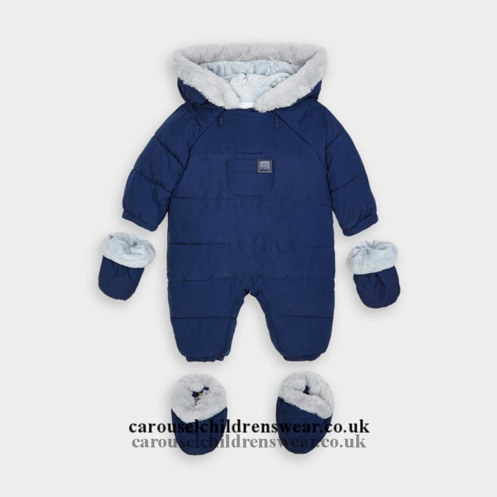 Mayoral 2627 013 Blue Snowsuit Clothing