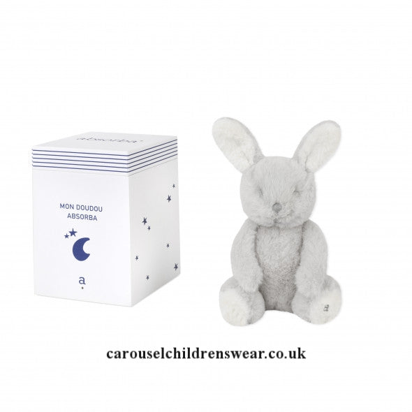 ABSORBA SMALL GREY RABBIT IN A BOX