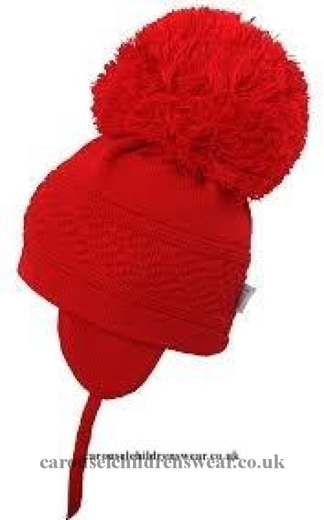 Satila Diamond Red Pom Hat Accessories