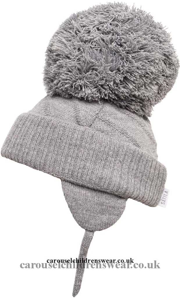 Satila Jim Grey Pom Hat Accessories