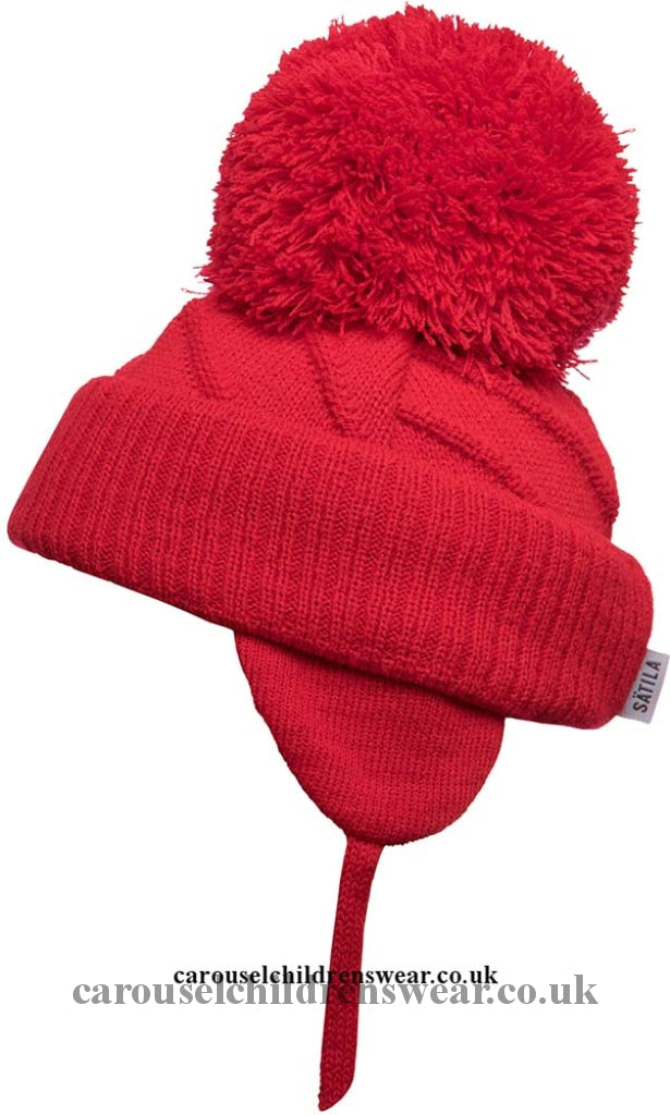 Satila Jim Red Pom Hat Accessories
