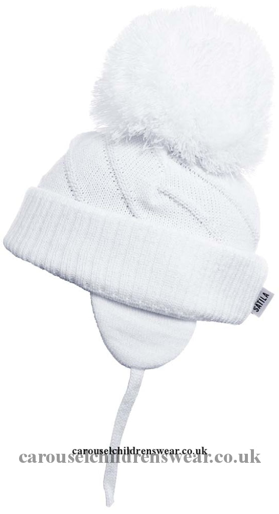 Satila Jim White Pom Hat Accessories