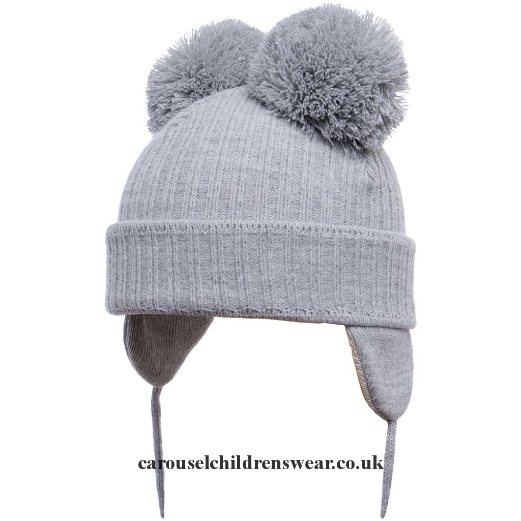 Satila Minnie Grey Light Double Pom Hat Accessories