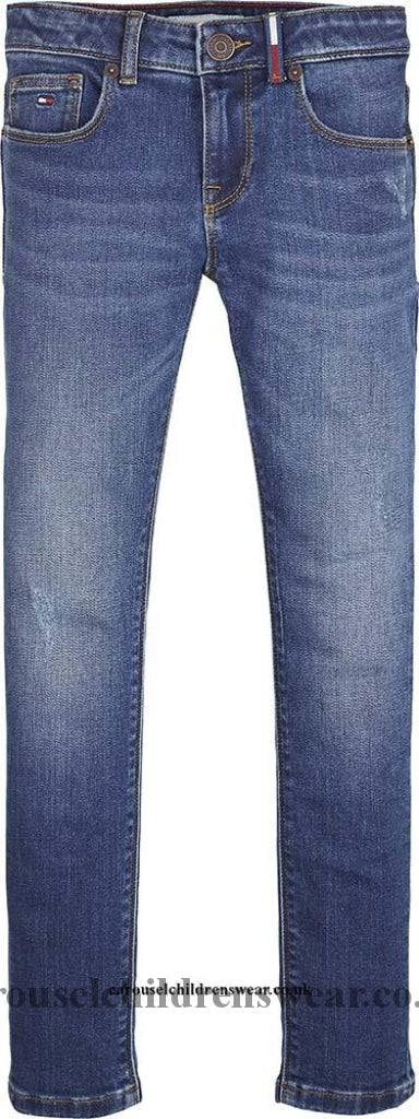 Tommy Hilfiger Kg0Kg048141A5 Girls Nora Super Skinny Jeans Clothing