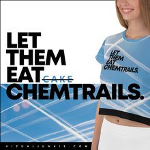 Load image into Gallery viewer, CHEMTRAILS - Crop Tee