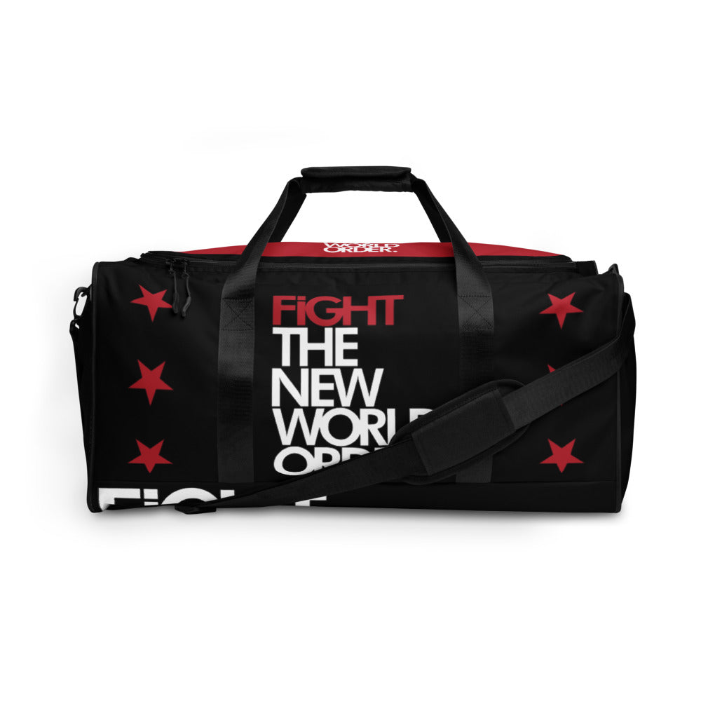 FIGHT THE NWO -- Duffle bag