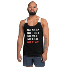 Load image into Gallery viewer, NO FEAR - Deluxe Unisex Tank