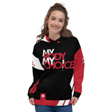 Load image into Gallery viewer, MY BODY MY CHOICE - Deluxe Unisex Hoodie