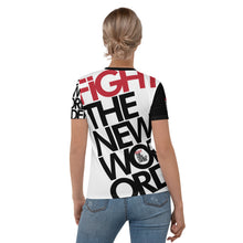 Load image into Gallery viewer, FIGHT THE NWO - Women's T-shirt