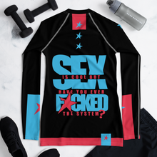 Load image into Gallery viewer, F*CK THE SYSTEM - Rash Guard Women's