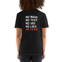 Load image into Gallery viewer, NO FEAR - Unisex T-Shirt (Black)
