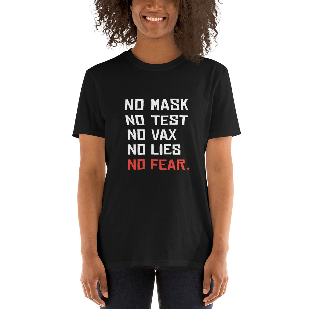 NO FEAR - Unisex T-Shirt (Black)