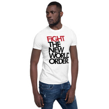 Load image into Gallery viewer, FIGHT THE NWO - Unisex T-Shirt - White