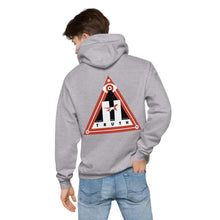 Load image into Gallery viewer, 911 TRUTH - Unisex fleece hoodie - Grey