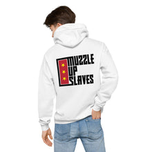 Load image into Gallery viewer, MUZZLE UP SLAVES - Unisex fleece hoodie