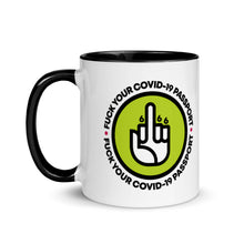Load image into Gallery viewer, FUCK THE COVID-19 PASSPORT - MUG