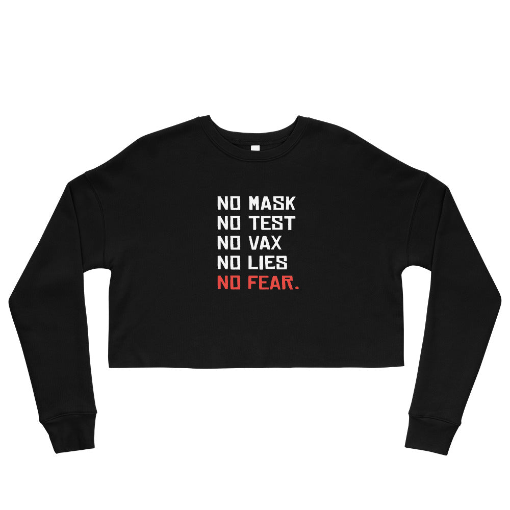 NO FEAR - Crop Sweatshirt