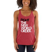 Load image into Gallery viewer, FIGHT THE NWO - Women's Racerback Tank