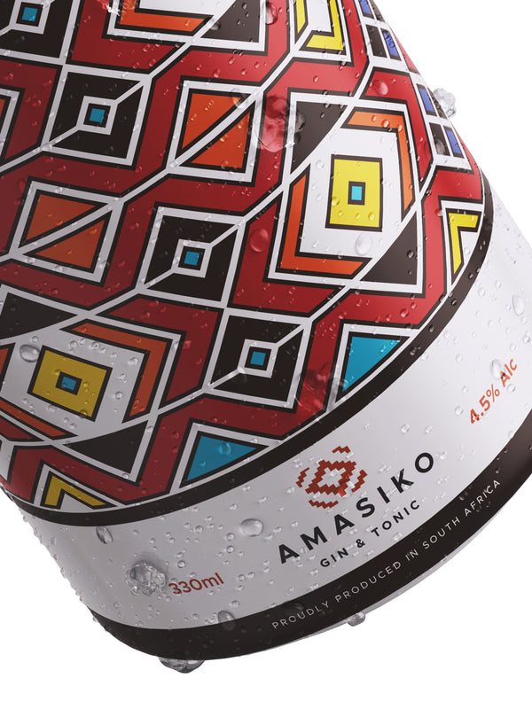 AMASIKO - Gin & Tonic 8 Pack (SOLD OUT)