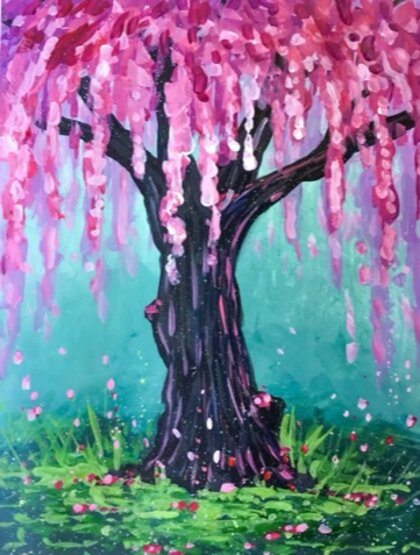 Tip Link - Blossoming Tree