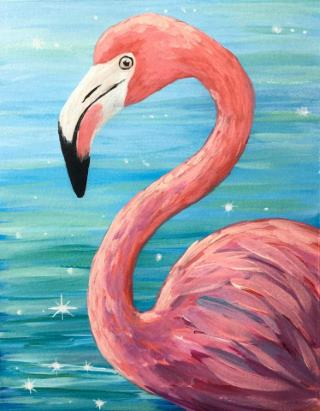 Virtual Tutorial - Fabulous Flamingo